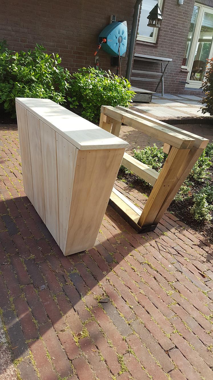 Timmerwerk & Meer | Loungebank van Accoya