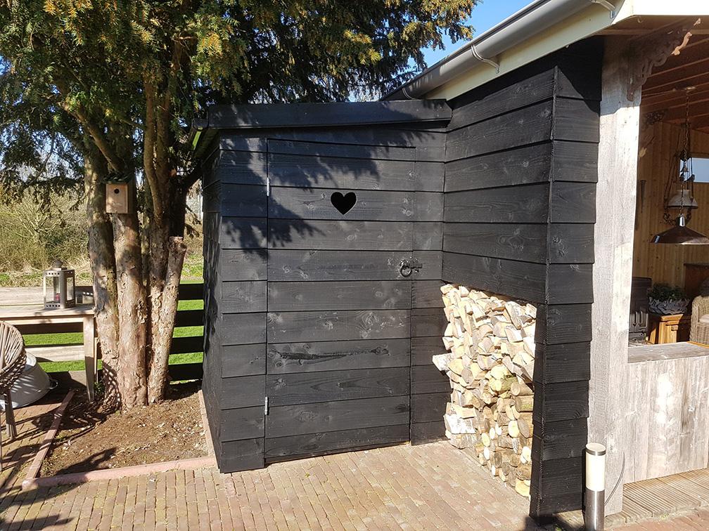 Timmerwerk & Meer | Aanbouw berging aan paviljoen
